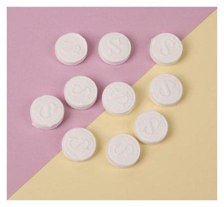 Набор косметических масок для лица, в таблетках, 10 шт, цвет белый  Queen Fair