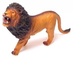 Фигурка животного «Африканский лев», длина 35 см
