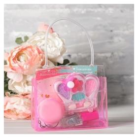 Набор косметики для девочки в сумке «Нежное настроение»  Выбражулька
