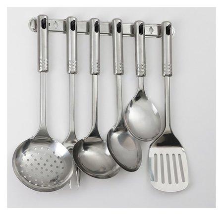 Набор кухонных принадлежностей «Стандарт», 6 предметов, на подвесе  NNB