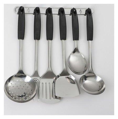 Набор кухонных принадлежностей «Ночь», 6 предметов, на подвесе  NNB