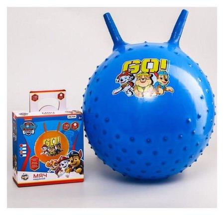"""Мяч прыгун массажный с рожками Paw Patrol """"GO"""" D=45 см, вес 350 гр  Paw patrol"""