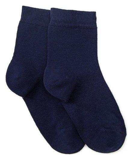 Носки детские, цвет тёмно-синий, размер 22-24  Носкофф