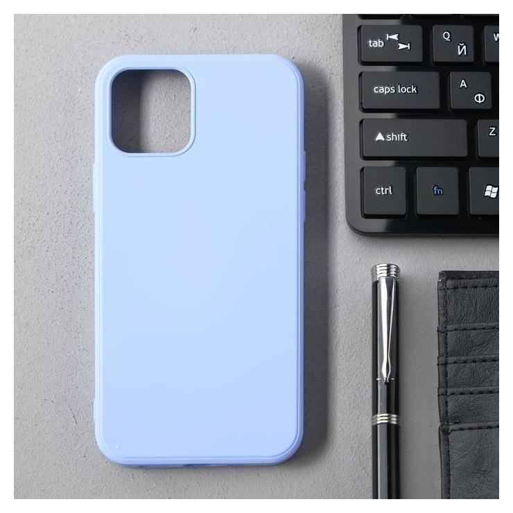 Чехол Activ Full Original Design, для Apple Iphone 12/12 Pro, силиконовый, светло-фиолетовый  КНР