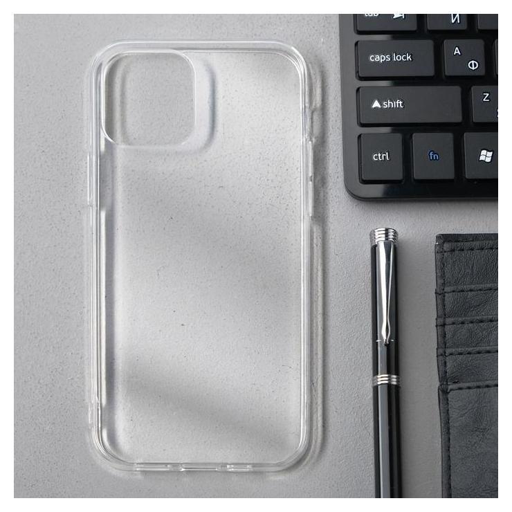 Чехол Innovation, для Apple Iphone 12/12 Pro, силиконовый, прозрачный Innovation