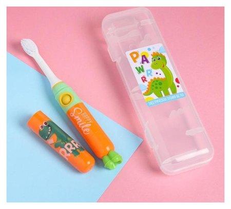 Электрическая зубная щетка «Дракоша», Lp-008, 19,2 х 5,5 см  Like me