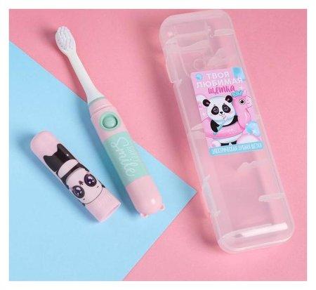 Электрическая зубная щетка «Улыбайся», Lp-005, 19,2 х 5,5 см  Like me
