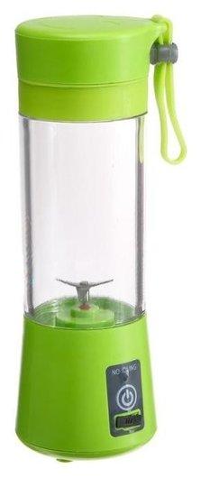 Блендер портативный Luazon Lbr-01, 24 Вт, 380 мл, от Usb, пластик, зеленый  LuazON