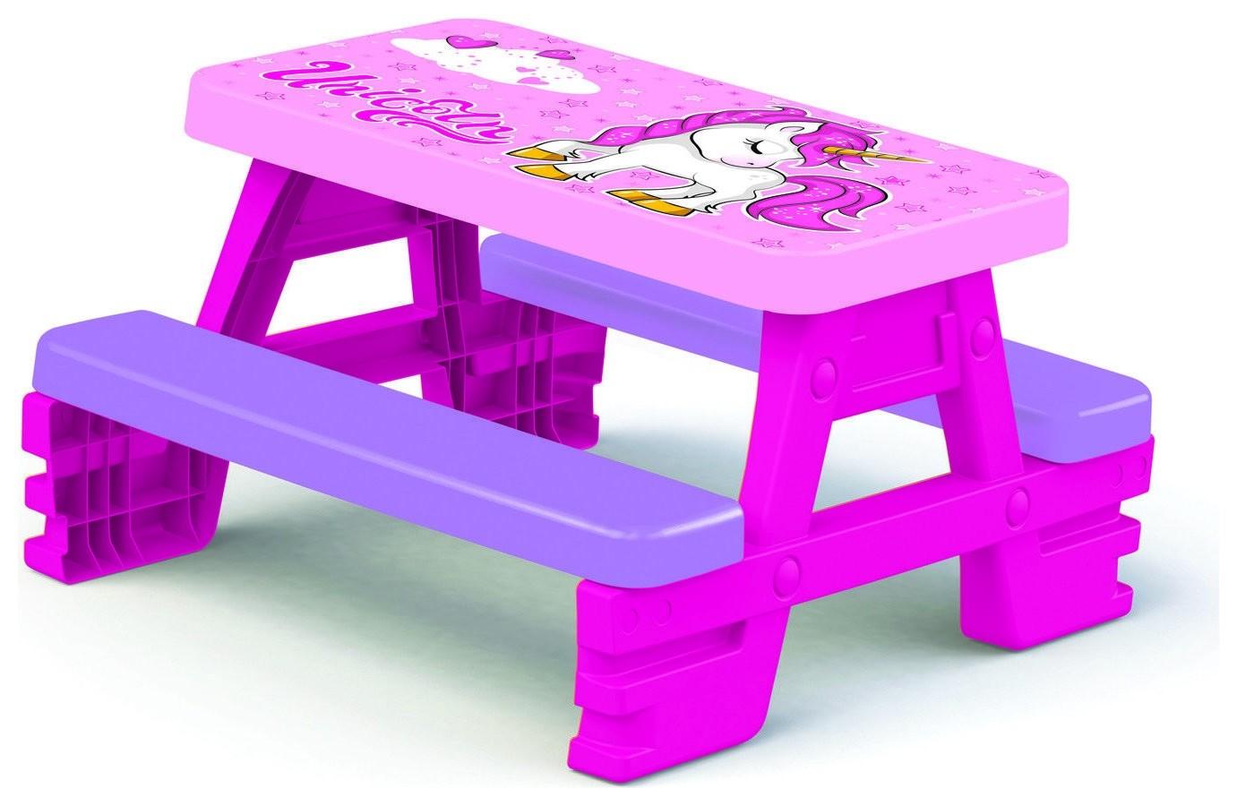 Стол-пикник для девочек Unicorn  Dolu