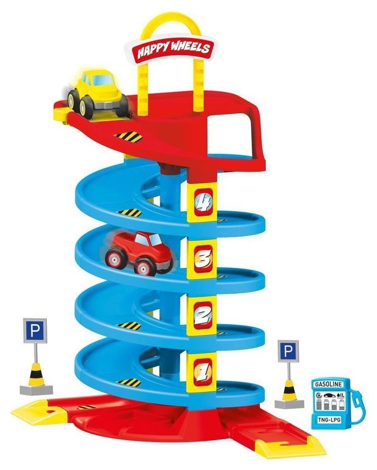 Набор игровой для мальчиков Трек спиральный  Dolu