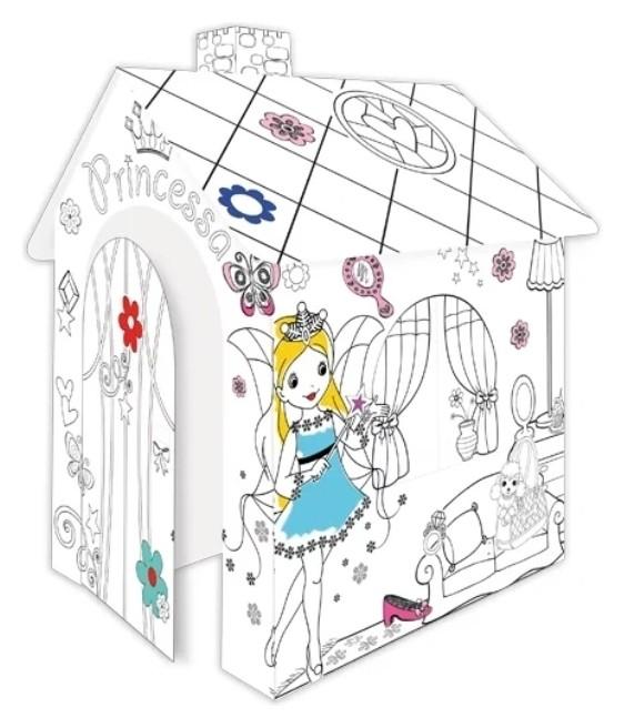 Домик-раскраска Принцесса Mochtoys