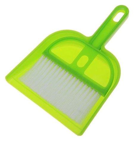 """Набор для уборки """"Чистота"""", 2 предмета: совок, щётка  NNB"""