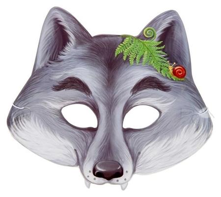 Маска «Серый волк»  Страна Карнавалия