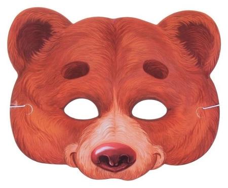 Маска карнавальная «Медведь»  Страна Карнавалия