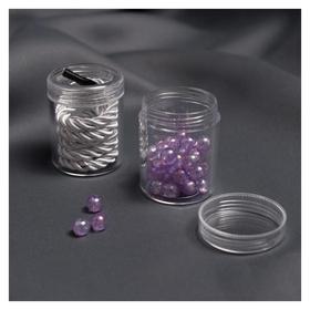 Баночки для хранения мелочей, D = 3,9 × 5 см, 20 гр, 2 шт  NNB