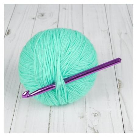 Крючок для вязания, D = 10 мм, 15 см  Арт узор
