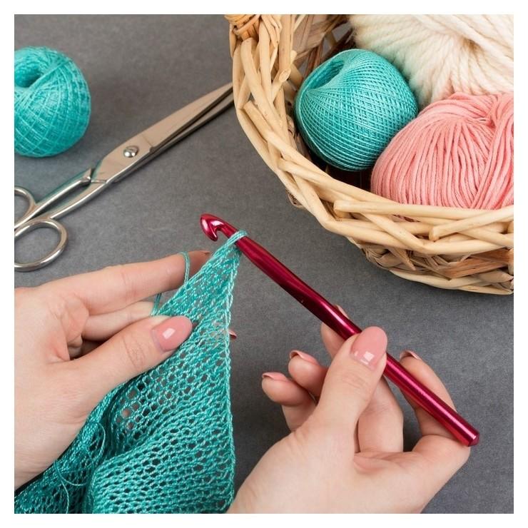 Крючок для вязания, D = 9 мм, 15 см  Арт узор