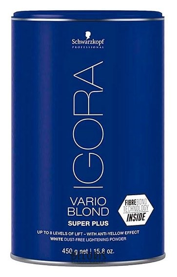 Купить Порошок для волос Igora, Порошок осветляющий Vario blond Super plus , Германия