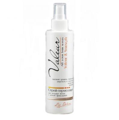 Спрей-термозащита для укладки волос легкой фиксации Liv Delano Valeur