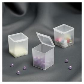 Контейнеры для хранения мелочей, 4 × 4,2 × 4,7 см, 3 шт  NNB