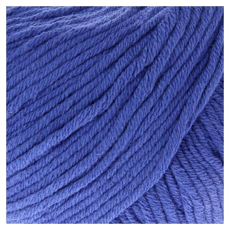 """Пряжа """"Baby Cotton XL"""" 50% хлопок, 50% полиакрил 105м/50гр (3421 яр.синий)  Gazzal"""
