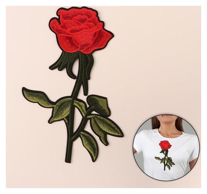 Термоаппликация «Роза», 23 × 15,5 см  NNB