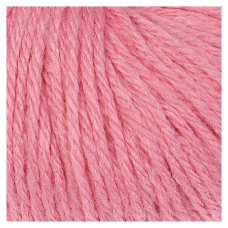 """Пряжа """"Baby Wool XL"""" 20% кашемир, 40% меринос. шерсть, 40% акрил 100м/50гр (828 розовый)  Gazzal"""