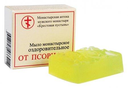 """Мыло монастырское оздоровительное """"От псориаза""""  Бизорюк"""