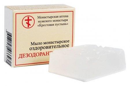 Мыло монастырское оздоровительное Дезодорант-мыло Бизорюк