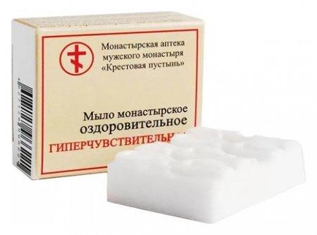 """Мыло монастырское оздоровительное """"Гиперчувствительная кожа""""  Бизорюк"""