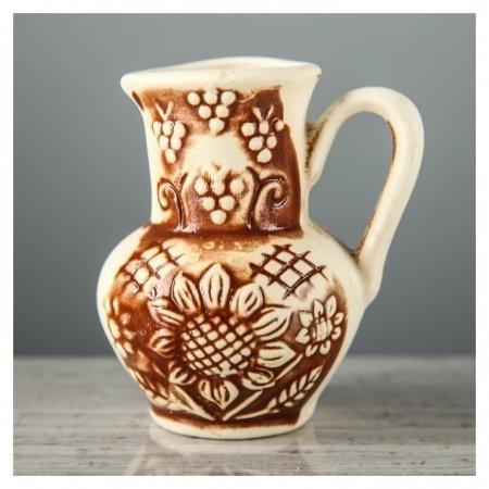 Сувенир-подвесной для изготовления оберега Глечик, 8 см Керамика ручной работы