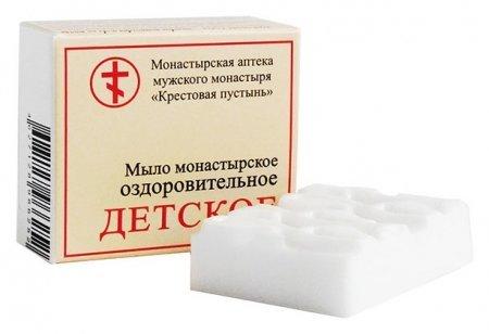 """Мыло монастырское оздоровительное """"Детское""""  Бизорюк"""