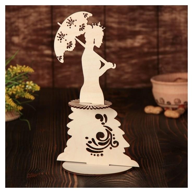 Салфетница «Дама с зонтиком», 26×15×0,3 см  NNB