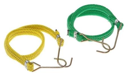 Резинка крепления груза Torso 1.75х60 см, металлические крючки, набор 2 шт  Torso