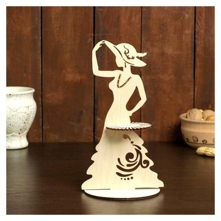 Салфетница «Дама в шляпе», 24×13×0,3 см  NNB