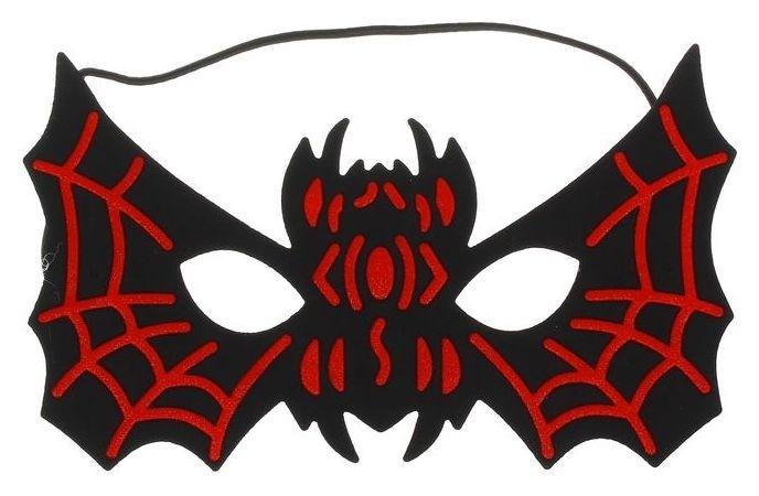 Маска «Летучая мышь», цвет чёрно-красный  Страна Карнавалия