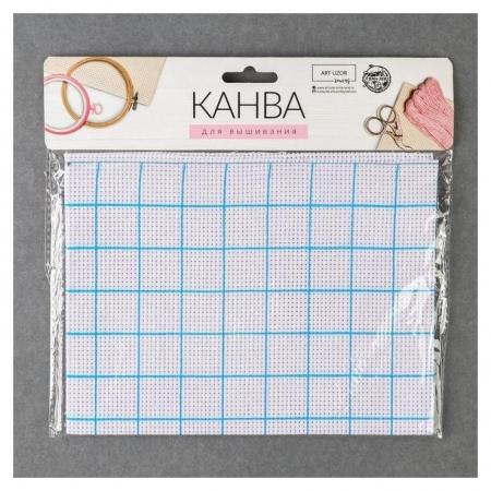 Канва для вышивания №11, 30 × 40 см, цвет белый  Арт узор