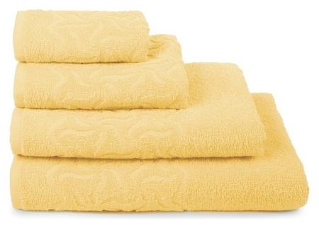 Полотенце махровое «Радуга» цвет жёлтый, 30х70, 305 гр/м  Cleanelly