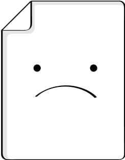 """Шар полимерный 18"""" «Сфера, горох», прозрачный, цвет рисунка оранжево-синий  NNB"""