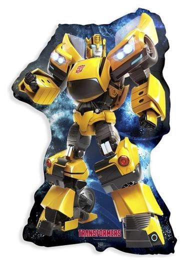 """Шар фольгированный 11"""" «Трансформеры. бамблби», фигура  Flexmetal"""