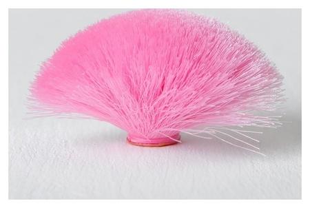 Декоративный элемент «Кисть» диаметр 9 см, цвет розовый  NNB