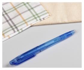 Ручка для ткани термоисчезающая, цвет белый  NNB