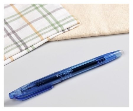 Ручка для ткани термоисчезающая, цвет чёрный  NNB