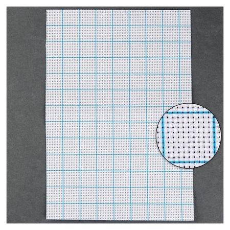 Канва для вышивания, в клетку, №11, 30 × 20 см, цвет белый  Арт узор