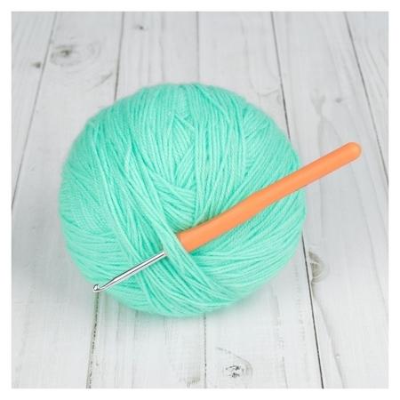 Крючок для вязания, D = 3,5 мм, 14 см  Арт узор