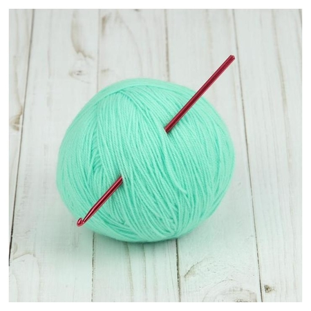 Крючок для вязания, D = 4 мм, 15 см  Арт узор