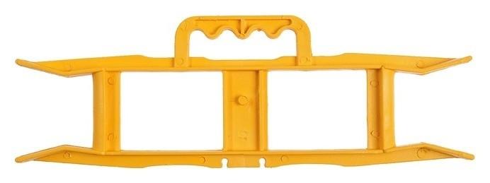 Каркас-рамка V.i.-tok, для уличных удлинителей, жёлтый  VI-TOK