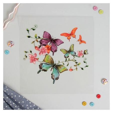 Термотрансфер «Бабочки», 18 × 20 см  NNB
