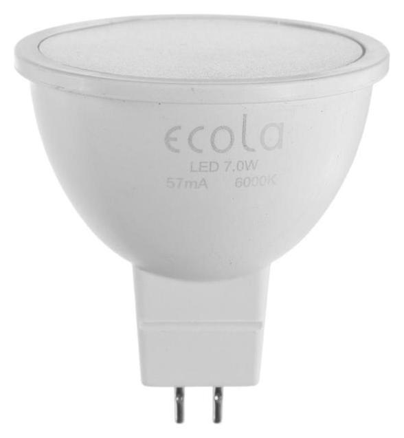 Лампа светодиодная Ecola Light Mr16, 7 Вт, Gu5.3, 6000 К, 220 В, 48х50 мм, матовая  Ecola