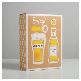 Коробка складная Happy, 22 × 30 × 10 см